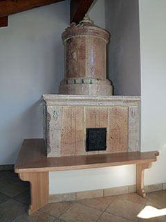 Il restauro della stufa a olle completato - foto 1 - StufArte.it la passione per le stufe tradizionali trentine