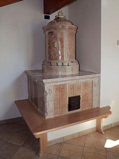 Il restauro della stufa a olle completato - foto 3 - StufArte.it la passione per le stufe tradizionali trentine