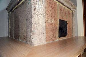 Realizzazione della panca in legno - 2 - StufArte.it la passione per le stufe tradizionali trentine