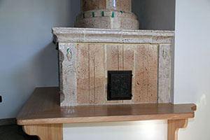 Realizzazione della panca in legno - foto 3 - StufArte.it la passione per le stufe tradizionali trentine